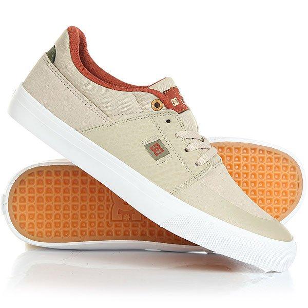 Кеды кроссовки низкие DC Wes Kremer Tan/Brown кеды кроссовки низкие dc wes kremer tan brown