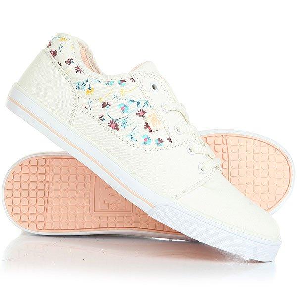 Кеды кроссовки низкие детские DC Tonik Sp CreamСамое главное в детской обуви - этоудобная подошваи хорошая вентиляция. В DC Tonik TX SE все это присутствует: гибкая вулканизированная подошва, используемая в скейтбордической обуви не только дает прекрасное чувство доски, но и дарит комфорт и легкость, а прочный текстиль обладает дышащими свойствами.Характеристики:Классический скейтовый дизайн.Металлические люверсы для шнурков. Вшитый логотип DC сбоку и на язычке.Сплошной бесшовный нос: меньше вероятность повреждений обуви. Гибкая и износостойкая резиновая подошва. DC Pill Pattern – фирменный рисунок протектора подошвы. Вулканизированная конструкция подошвы обеспечивает феноменальный контроль над доской и лучшую гибкость.<br><br>Цвет: бежевый<br>Тип: Кеды низкие<br>Возраст: Детский