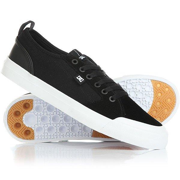 Кеды кроссовки низкие DC Evan Smith S Black/White кеды кроссовки низкие dc evan smith burgundy