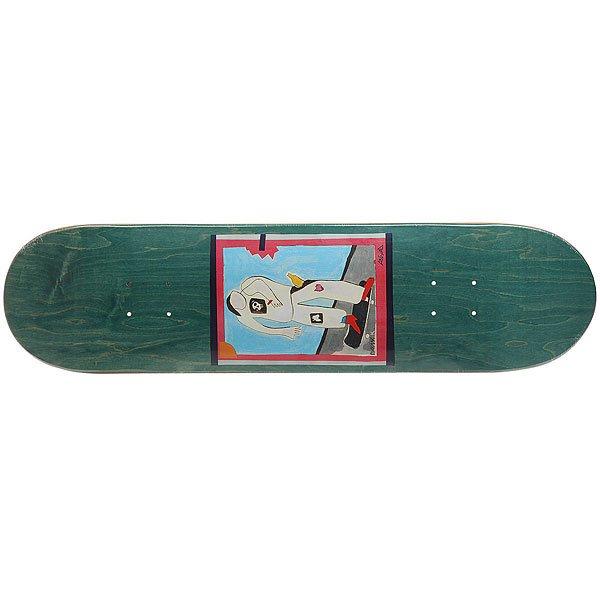 Дека для скейтборда для скейтборда Absurd SSS №1 Green 32 x 8 (20.3 см)