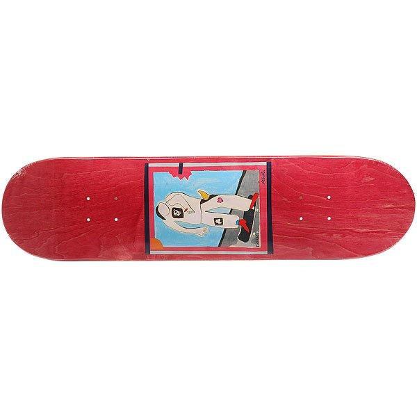 Дека для скейтборда для скейтборда Absurd SSS №1 Red 32 x 8 (20.3 см)