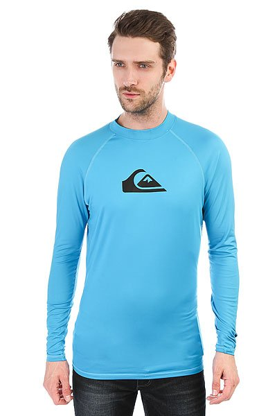 Гидрофутболка Quiksilver All Time Blue Danube