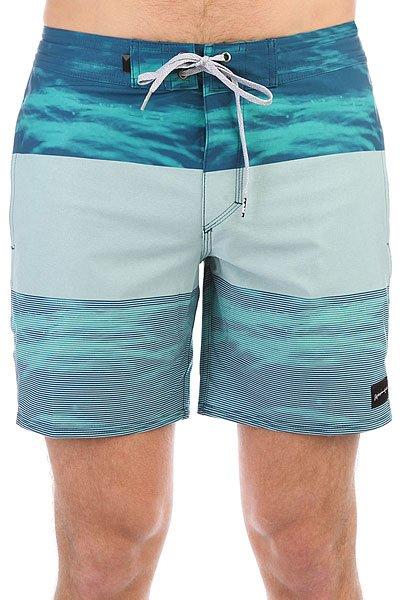 Шорты пляжные Quiksilver Tijuabeachsh17 Viridian Green<br><br>Цвет: голубой,синий<br>Тип: Шорты пляжные<br>Возраст: Взрослый<br>Пол: Мужской