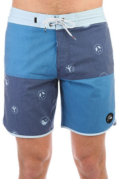 Шорты пляжные Quiksilver Quadblockbeac18 Estate Blue