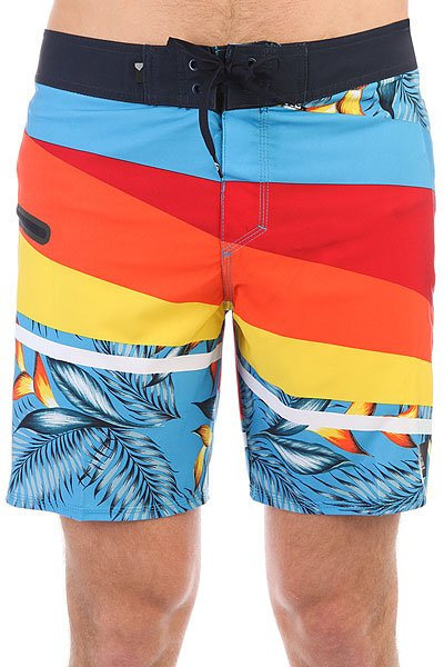 Шорты пляжные Quiksilver Slashprintsve18 Chili Pepper
