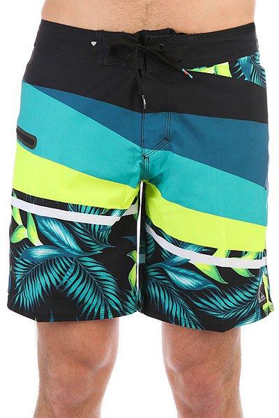 Шорты пляжные Quiksilver Slashprintsve18 Moroccan Blue<br><br>Цвет: мультиколор<br>Тип: Шорты пляжные<br>Возраст: Взрослый<br>Пол: Мужской