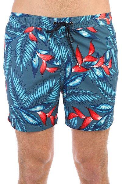 Шорты пляжные Quiksilver Paradisepoint15 Indian Teal<br><br>Цвет: синий,мультиколор<br>Тип: Шорты пляжные<br>Возраст: Взрослый<br>Пол: Мужской