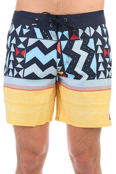 Шорты пляжные Quiksilver Slablapuvee17 Navy Blazer<br><br>Цвет: синий,желтый<br>Тип: Шорты пляжные<br>Возраст: Взрослый<br>Пол: Мужской