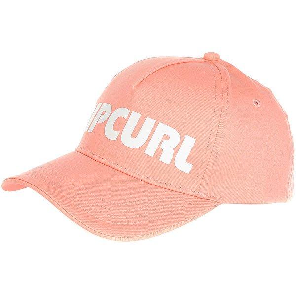Бейсболка классическая женская Rip Curl Pump Snap Tab Cap Peach<br><br>Цвет: розовый<br>Тип: Бейсболка классическая<br>Возраст: Взрослый<br>Пол: Женский