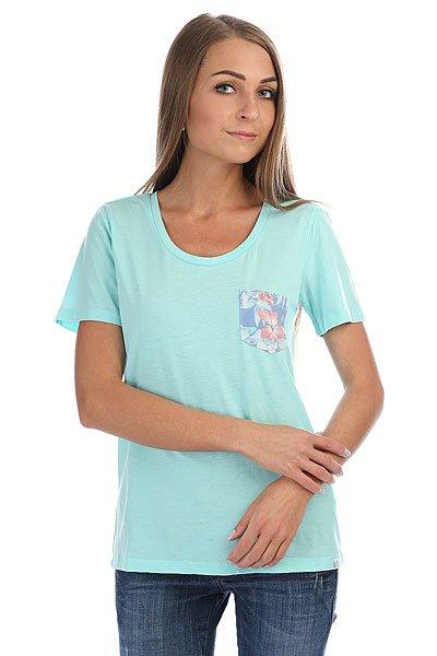 Футболка женская Rip Curl Tera Aruba Blue<br><br>Цвет: голубой<br>Тип: Футболка<br>Возраст: Взрослый<br>Пол: Женский