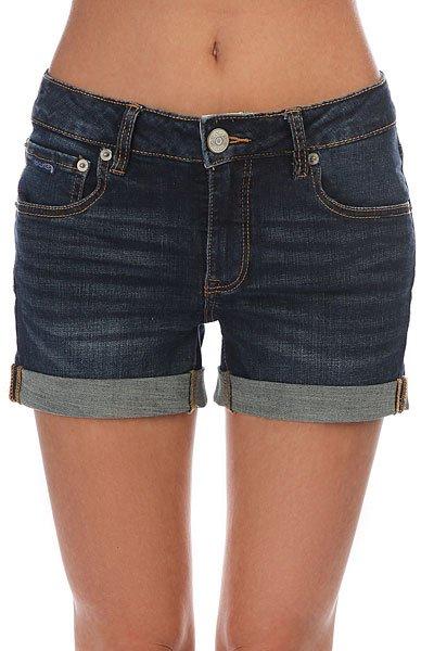 Шорты джинсовые женские Rip Curl Del Sol Short Blue Depths<br><br>Цвет: синий<br>Тип: Шорты джинсовые<br>Возраст: Взрослый<br>Пол: Женский