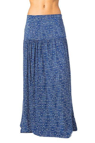 Юбка женская Rip Curl Westwind Skirt Ibiza<br><br>Цвет: синий,белый<br>Тип: Юбка<br>Возраст: Взрослый<br>Пол: Женский