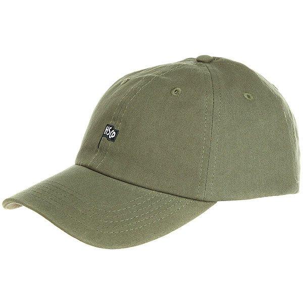 Бейсболка классическая Herschel Sylas Sage Green<br><br>Цвет: зеленый<br>Тип: Бейсболка классическая<br>Возраст: Взрослый