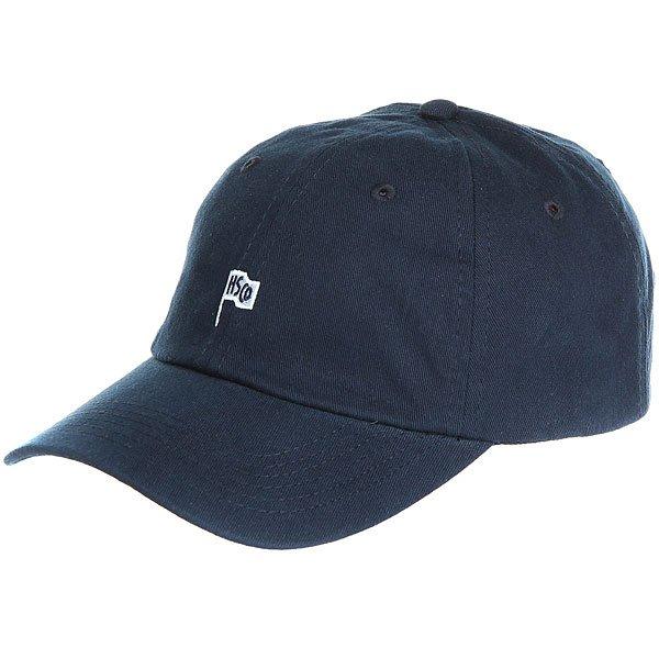 Бейсболка классическая Herschel Sylas Navy<br><br>Цвет: синий<br>Тип: Бейсболка классическая<br>Возраст: Взрослый