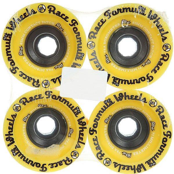 Колеса для скейтборда для лонгборда Sector 9 Race Yellow 78A 71 mm