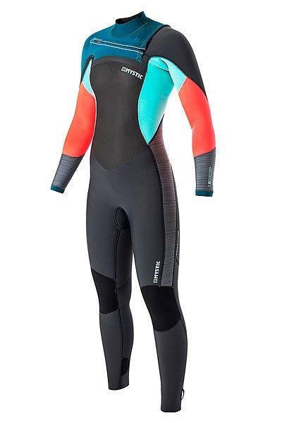 Гидрокостюм (Комбинезон) женский Mystic Diva Fullsuit 5/3mm Fzip TealНовый гидрокостюм Diva из неопрена M-Flex 2.0 с эластичной лентой, ультра легкой пеной и зонами для выхода воды Aquaflush. Легкий и гибкий костюм в стильном цвете.Технические характеристики: Швы GBS - прошитые и проклеенные.Внутренние швы обработаны водонепроницаемой лентой.Сетка из неопрена на груди и на спине.Молния на груди Fine Mystic.Неопрен Glideskin в области шеи.Aquabarrier предотвращает попадание воды внутрь костюма.Эластичная область коленей 4-way.Нескользящие манжеты.Карман для ключей.Aquaflush - перфорированный неопрен, который позволяет выйти воде из костюма.Эластичный неопрен M-Flex 2.0.Подкладка Polar lining на груди и на спине отражает тепло тела и гарантирует, что вы будете оставаться в тепле дольше.Толщина 5/3 мм.<br><br>Цвет: серый,голубой,розовый<br>Тип: Гидрокостюм (Комбинезон)<br>Возраст: Взрослый<br>Пол: Женский