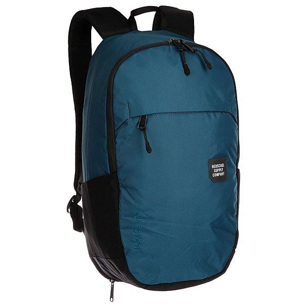 Рюкзак городской Herschel Mammoth Medium Legion Blue/Black<br><br>Цвет: синий,черный<br>Тип: Рюкзак городской<br>Возраст: Взрослый