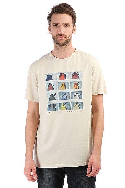 Футболка Billabong Tails Ss Rock<br><br>Цвет: бежевый<br>Тип: Футболка<br>Возраст: Взрослый<br>Пол: Мужской