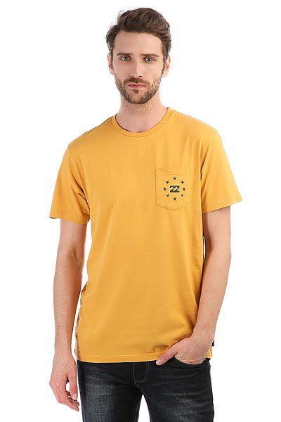 Футболка Billabong Wagoner Bright Gold<br><br>Цвет: желтый<br>Тип: Футболка<br>Возраст: Взрослый<br>Пол: Мужской