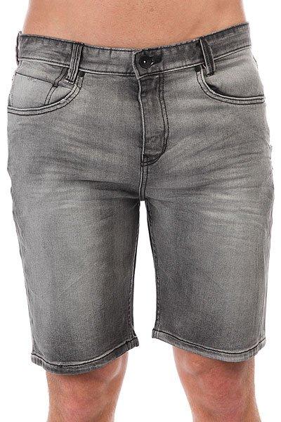 Шорты джинсовые Billabong Outsider 5 P. Denim Salty Vinta Black<br><br>Цвет: серый<br>Тип: Шорты джинсовые<br>Возраст: Взрослый<br>Пол: Мужской