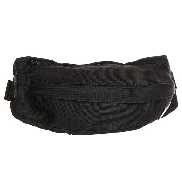 Сумка поясная Transfer Banan BlackВместительная сумка на пояс с карманами и регулируемым ремешком. Универсальный дизайн для спорта и активного отдыха.Технические характеристики: Основное отделение и внешний карман на молнии.Регулируемый ремешок с пластиковой застежкой.Компактный дизайн украшенный логотипом бренда Transfer.<br><br>Цвет: черный<br>Тип: Сумка поясная<br>Возраст: Взрослый<br>Пол: Мужской