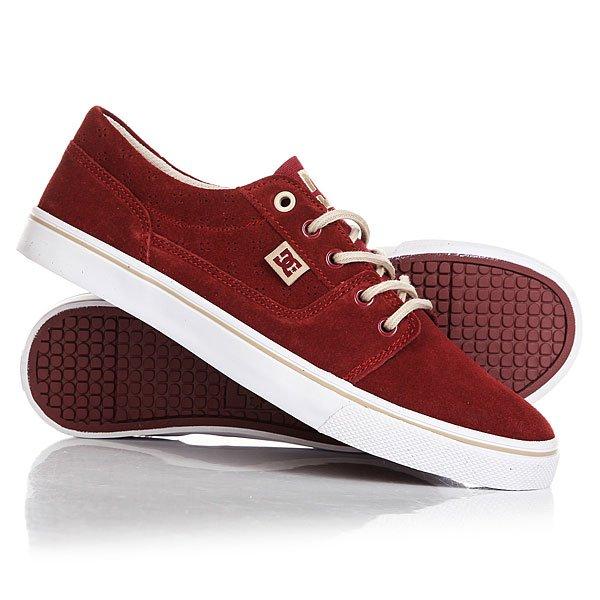 Кеды кроссовки низкие женские DC Tonik W Se Burgundy dc shoes кеды dc heathrow se 11