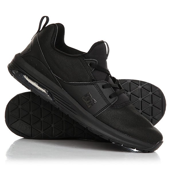 Кроссовки женские DC Heathrow Ia Black Acid кроссовки dc shoes heathrow ia tr black