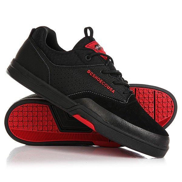 Кеды кроссовки низкие DC Cole Lite 3 S Black/Red