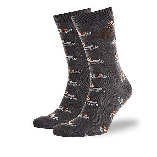Носки средние Запорожец Утки Темно-серые<br><br>Цвет: серый<br>Тип: Носки средние<br>Возраст: Взрослый<br>Пол: Мужской