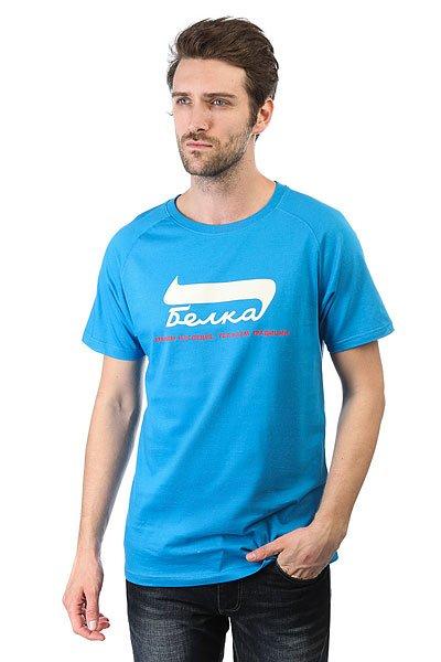 Футболка Запорожец Belka Blue<br><br>Цвет: синий<br>Тип: Футболка<br>Возраст: Взрослый<br>Пол: Мужской
