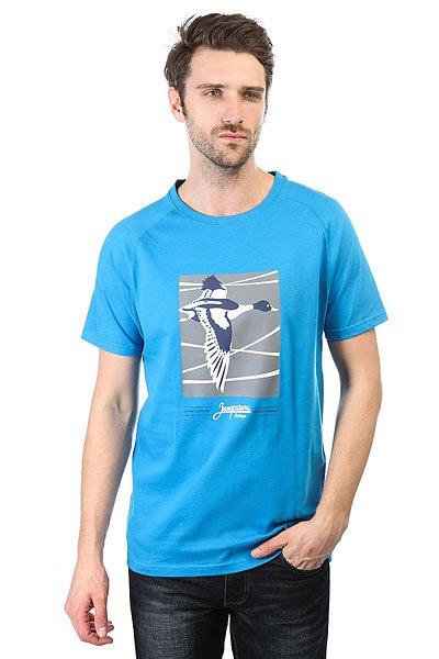 Футболка Запорожец Perelet Blue<br><br>Цвет: голубой<br>Тип: Футболка<br>Возраст: Взрослый<br>Пол: Мужской