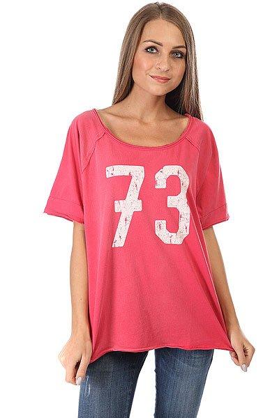 Футболка женская Billabong Bright Side Sunset Red<br><br>Цвет: розовый<br>Тип: Футболка<br>Возраст: Взрослый<br>Пол: Женский