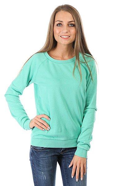 Толстовка классическая женская Billabong Essential Cr Island Green толстовка женская billabong essential cr 2016 dkathl grey l