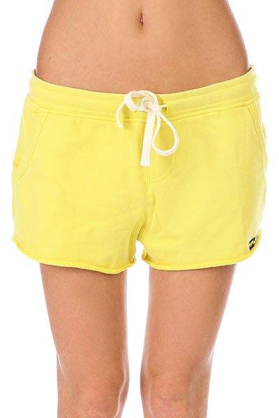 Шорты классические женские Billabong Essential Short Lemongrass<br><br>Цвет: желтый<br>Тип: Шорты классические<br>Возраст: Взрослый<br>Пол: Женский