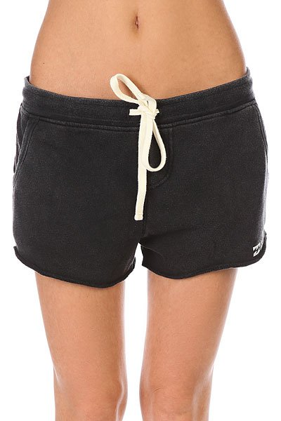 Шорты классические женские Billabong Essential Short Black брюки женские billabong essential pant 2017 mauvewood xs