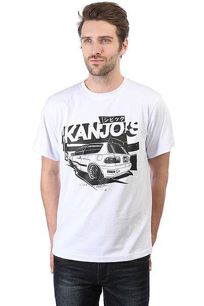 Футболка Anteater Kanjos White<br><br>Цвет: белый<br>Тип: Футболка<br>Возраст: Взрослый<br>Пол: Мужской
