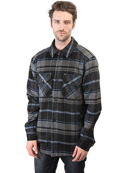 Рубашка утепленная Anteater Shirt-check Black/Grey<br><br>Цвет: черный,серый<br>Тип: Рубашка утепленная<br>Возраст: Взрослый<br>Пол: Мужской