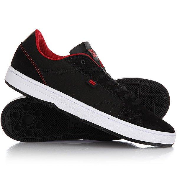 Кеды кроссовки низкие DC Astor Black/RedВ духе лучших традиций DC Shoes мужские кеды Astor смотрятся так стильно именно за счет своего минимализма, и их стиль – вне времени. Модель предназначена для активного повседневного использования и изготовлена из материалов высшего класса.Технические характеристики: Верх из замши и парусины.Подкладка и стелька из дышащей сетки.Технология Impact I™ дарит максимальный комфорт и гасит внешние нагрузки.Внутренник Ortholite™.Прочная каучуковая подошва Impact I™ с отличными виброгасящими свойствами.Рисунок протектора подошвы «елочкой».<br><br>Цвет: черный,красный<br>Тип: Кеды низкие<br>Возраст: Взрослый<br>Пол: Мужской