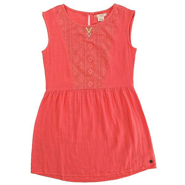 Платье детское Roxy Arrowsplayer Sugar Coral<br><br>Цвет: розовый<br>Тип: Платье<br>Возраст: Детский