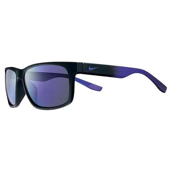 Очки Cruiser R, Matte Black/Electro Purple Fade (линзы - Grey W/Violet Flash Lens)