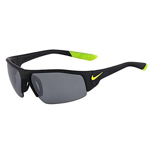 Очки Skylon Ace Xv, Matte Black/Volt (линзы - Grey W/Silver Flash Lens)Легкие и комфортные очки, которые идеально подходят для занятия спортом. Очки всегда останутся на своем месте благодаря спортивной оправе, а также прорезиненным элементам.Технические характеристики: Легкий нейлоновый каркас для комфорта и долговечности.Петли Cam-action.Вентилируемая переносица улучшает комфорт и уменьшает запотевание.100% защиты от УФ-лучей.Технология Nike Max Optics - это передовое высокоточное оптическое решение для спортсменов. В сочетании с фотохромной технологией Transitions эти линзы способны адаптироваться к различным условиям спортивной деятельности и к изменениям освещения. Идеальные линзы для самых высоких спортивных результатов.Объемные линзы для максимального охвата.Логотип Nike.Ширина оправы 15 см, длина дужки 13 см, высота оправы 4 см.<br><br>Тип: Очки<br>Возраст: Взрослый<br>Пол: Мужской