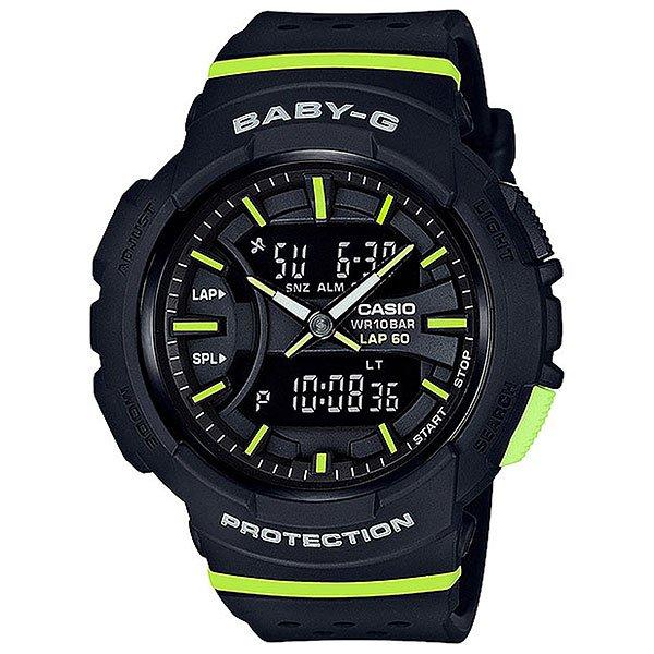 Кварцевые часы женские Casio G-Shock Baby-g 67720 bga-240-1a2Часы для любителей бега, а если ежедневные пробежки - это не про вас, все в порядке, ведь перед вами полноценная fashion модель, которая украсит любое запястье и станет яркой частью уличной моды любого мегаполиса.Характеристики:Данная модель представлена в аналого-цифровом варианте (стрелки + жидкокристаллический дисплей).Светодиодная автоподсветка. При повороте часов в сторону лица подсвечивание дисплея осуществляется автоматически, благодаря функции «Автоподсветка». Продолжительность подсветки можно изменять. Функция задержки отключения - подсветка горит еще несколько секунд после отпускания кнопки освещения. Светонакопитель Neobrite.Специальное покрытие обеспечивает длительное послесвечение в темноте даже после кратковременного нахождения на свету. Двойное время (Dual Time): одновременное отображение текущего времени в двух разных часовых поясах. Точное измерение истекшего времени касанием кнопки. Секундомер позволяет фиксировать общее время преодоления всей дистанции, время преодоления отдельных дистанций (кругов), а также время преодоления дистанции с промежуточным результатом и результат двойного финиша. Точность измерения для первого часа 1/100 сек, после – 1/1 сек, запас измерения 100 часов. Функция записной книжки секундомера - позволяет сохранить в памяти часов время преодоления отдельных дистанций (кругов) и время преодоления дистанции с промежуточным результатом. Память на 60 записей. Таймер обратного отсчета с функцией автоповтора. Максимальное время установки 24 часа - шаг измерения 1/1 сек, минимальное время установки 1 минута.Функция мультисигнала позволяет устанавливать 4 разных типа сигнала: 1. Ежедневный. 2. Ежемесячный. 3. Сигнал в определенное время каждый день определенного месяца. 4. Сигнал в определенное время в определенный день (на дату). В данной модели - 3 независимых будильника. Функция повтора сигнала будильника (SNOOZE). Функция ежечасного сигнала обеспечивает подачу часами з