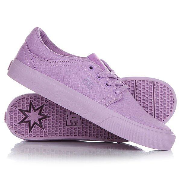 Кеды кроссовки низкие женские DC Trase Tx Lilac