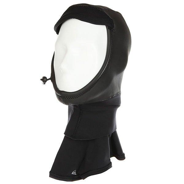 Водный шлем Quiksilver 2 Hline Hood BlackМужской гидрошлем Highline из неопрена FNlite с проклеенными швами GBS позволит наслаждаться серфингом даже в  холодную погоду.Технические характеристики: Технологичный неопрен FNlite толщиной 2 мм.Проклеенные и прошитые швы GBS.Технология Thermal Smoothie для защиты от ветра и влаги.<br><br>Цвет: черный<br>Тип: Водный шлем<br>Возраст: Взрослый<br>Пол: Мужской