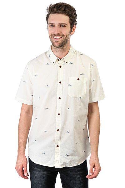 Рубашка Quiksilver Post Surf Pristine<br><br>Цвет: бежевый<br>Тип: Рубашка<br>Возраст: Взрослый<br>Пол: Мужской
