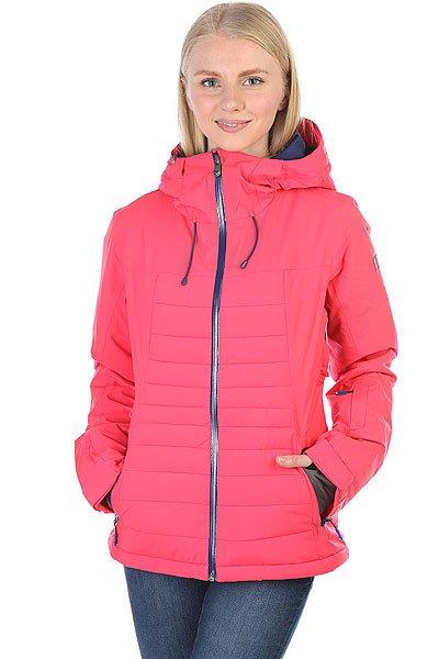 Куртка утепленная женская Roxy Tracer Paradise PinkЛегкая стеганая куртка Tracer с утеплителем PrimaLoft® Gold обеспечивает защиту в холодную погоду без лишнего объема. Приталенный крой, стеганый дизайн и яркие цвета в катальной куртке от Roxy.Технические характеристики: Мембрана DryFlight® 20K для максимального уровня защиты в сырую и холодную погоду.Воротник ROXY X Biotherm® Enjoy &amp; Care из косметического текстиля, который ухаживает за вашей кожей.Синтетика из полиэстера.Утеплитель PrimaLoft® Gold Insulation Luxe.Подкладка из тафты с начесом и с сеточными трикотажными вставками.Полностью проклеенные швы (за исключение стеганых поверхностей).Три способа регулировки капюшона.Фиксированный капюшон.Эластичная фиксированная противоснежная юбка на кнопках.Система пристегивания куртки к штанам.Внутренний медиа карман.Внутренний карман для маски.Ткань для протирки фильтра маски.Брелок для ключей.Лайкровые манжеты с прорезями для больших пальцев.Кармашек для скипасса на рукаве.Сеточная вентиляция.Карманы с теплой подкладкой.Водостойкие молнии YKK® Aquaguard®.<br><br>Цвет: розовый<br>Тип: Куртка утепленная<br>Возраст: Взрослый<br>Пол: Женский