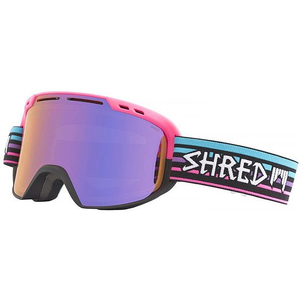 Маска для сноуборда Shred Amazify Lines - Quartz Pink/Blue/Black