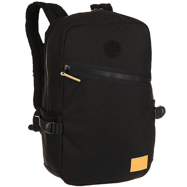 Рюкзак городской Nixon Scout Backpack Black/YellowКачественные и функциональные рюкзаки в оригинальном дизайне. Nixon путешествует по миру, проверяя рюкзаки на прочность. А вы готовы подняться на новый уровень?Технические характеристики: Материал - полиэстер 450D с PU покрытием.Подкладка с тиснением из нейлона 210D.Мягкие лямки и плотная спинка.Карман для ноутбука.Органайзер.Передний и боковые карманы для аксессуаров.Нашивка с логотипом.<br><br>Цвет: черный<br>Тип: Рюкзак городской<br>Возраст: Взрослый