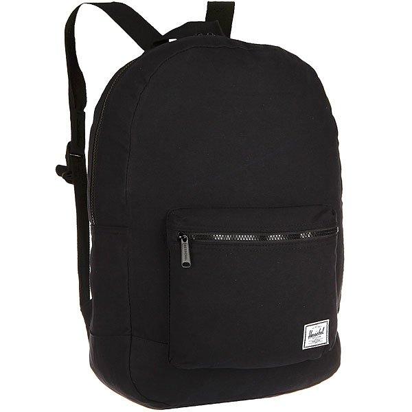 Рюкзак городской Herschel Packable Daypack Black<br><br>Цвет: черный<br>Тип: Рюкзак городской<br>Возраст: Взрослый
