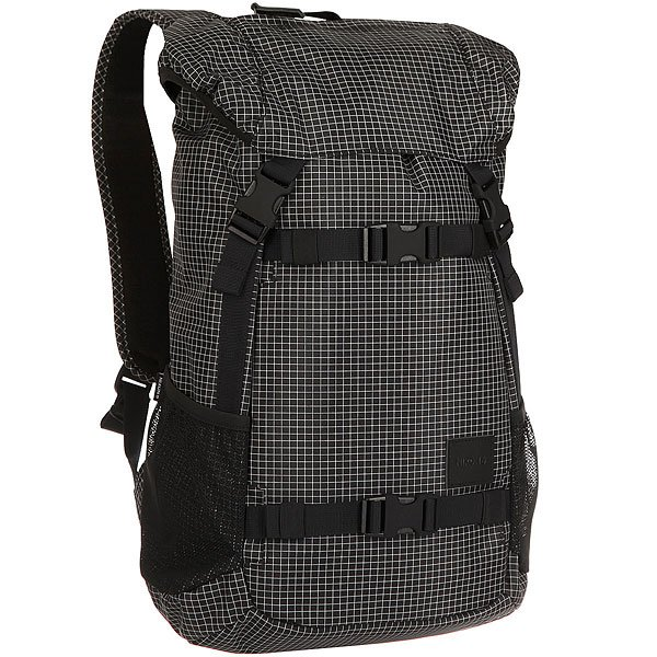 Рюкзак туристический Nixon Landlock Backpack Se Black Grid рюкзак ucon bradley backpack black